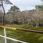 Vue sur le parque, depuis le balcon Nord